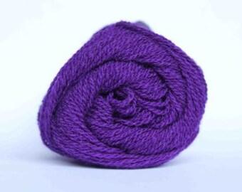 BARGAIN PACK Shetland 2ply Lace Knitting Yarn, Jamieson & Smith, Purple 10 x 25g balls