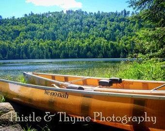Boundary Waters Canoeing Photo - 5x7 Photographic Art Print