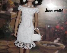 Ellowyne Just Pretty Crochet Pattern For Ellowyne Fits Antionette Digital Download by djemorin