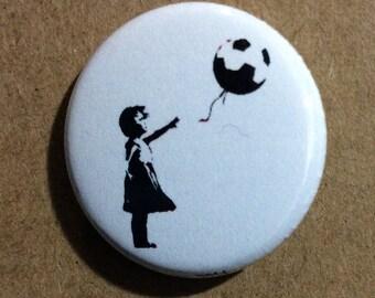 """1"""" Button - Balloon"""