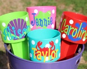 Beach Spiker - Personalized Beach Cup Holder - Drink Holder - Bridesmaid Gift