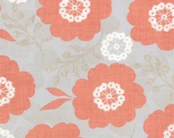 Modern Roses - Pretty Polly in Ginger by Stephanie Ryan for Moda Fabrics - Last Yard