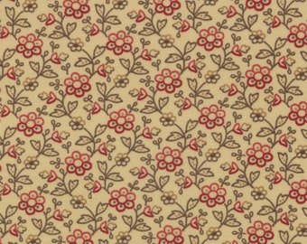 Collection For A Cause Circa 1852 - Garden Flower in Cream by Howard Marcus for Moda Fabrics