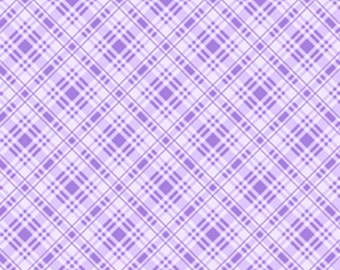 Sausalito Cottage - Plaid in Lavender by Holly Holderman for Lakehouse Drygoods