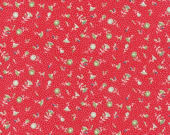 Pedal Pushers - Retro Petunia in Raspberry by Lauren & Jessi Jung for Moda Fabrics