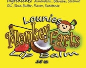 Monkey Farts | Flavored Lip Balm | Scented | Scented Lip Balm | Flavored Chapstick | Lip Balm | Chapstick | Chap Stick | Flavors | Banana