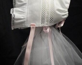 Heirloom Baby Bonnet 1