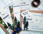 Chairlift Rustic Lake/Ski Getaway Collection-Lake Tahoe or other Lake/Mountain Resort