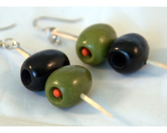 Olive Earrings