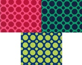 1 Yard Spot On Cotton from Robert Kaufman - Choose from 3 different colors