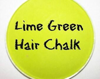Lime Green Hair Chalk