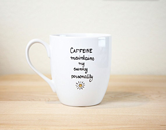 Coffee And Christmas Quotes: Items Similar To Quote Coffee Cup Gift For Coffee Lover