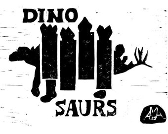 Dinosaurs : Inspired by Black Flag