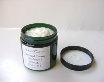 Jasmine Delight Natural Cream Deodorant