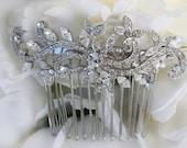 wedding hair comb rhinestone swarovski hair comb bridal hair comb bridal hair accessories wedding hair accessories bridesmaid hair comb