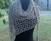 The Honeycomb Shawl - Crochet Pattern
