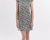Noriko - A-silhouette dress with peter pan collar made of Liberty Fabric by Mrs Pomeranz (SS2014)