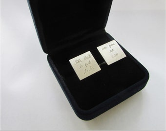cuff links groom cufflinks gift for groom cufflinks with message groom gift cuff links for groom