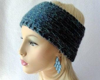 Knit Ear Warmer Pattern, Knit Headband pattern, Knit Raised Stocking Stitch Ear Warmer pattern for adults and teens