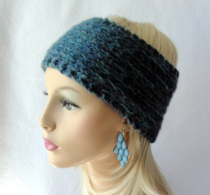 Knitting Pattern Headband Ear Warmer : Chandeliers & Pendant Lights