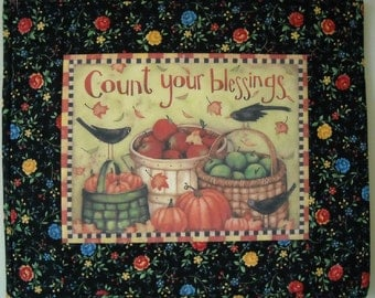 Great Gift, Count Your Blessings Wall Hanging