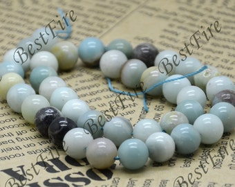 Single Amazonite 10mm Round beads, Amazon stone Loose Beads,gemstone beads loose strand