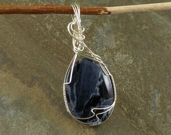 Blue Pietersite Pendant (368)