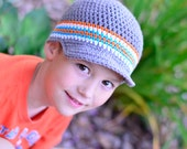 Crochet Hat for Boy, Boy Hat, Boy Cap, Crochet Cap for Boys, Little Boy Hat, Hats for Boys, Little Boy's Hat,