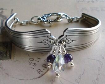 Vintage Silver Spoon Bracelet FREE SHIPPING