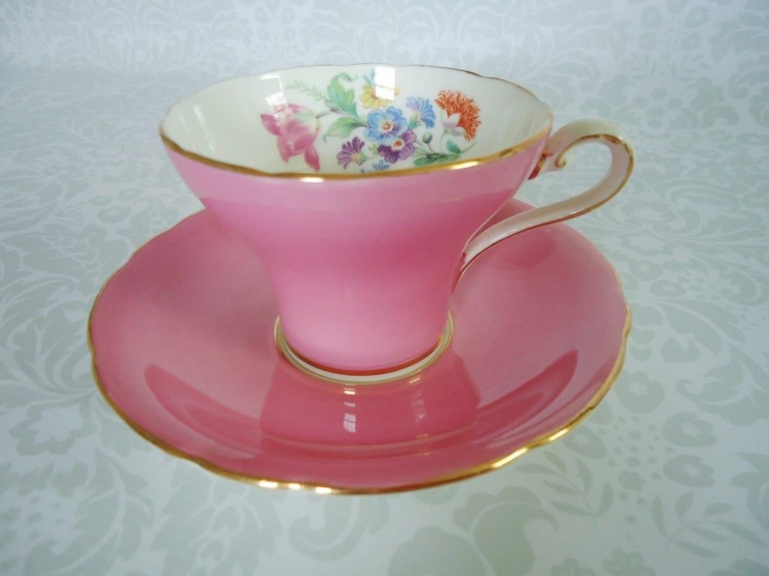 vintage teacup tea cup-#32