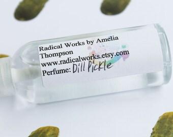 Dill Pickle Perfume Spray - Cologne - Perfume Bottle - Natural Perfume - Perfume Atomizer - Perfume Samples