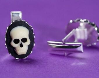 Skull Cameo Cufflinks