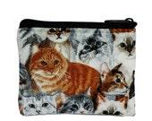 Cats print Coin Bag
