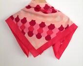 Shades of Pink Vintage Scarf