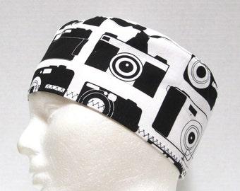Mens Surgical Scrub Cap, Scrub Hat Cameras