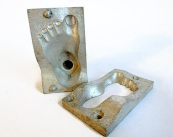 Antique Chocolate Foot Mold