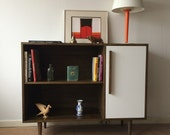 Tall Cordial Credenza Cabinet with Door