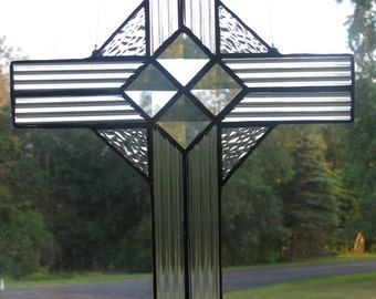 Sparkling Cross Suncatcher
