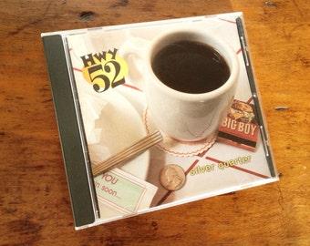 "Hwy 52 ""Silver Quarter"" bluegrass music CD, traditional bluegrass band, San Diego, California, with Paul Shelasky, Eric Uglum, Sara Watkins"