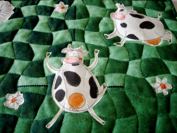Daisy Cow Wall Hanging