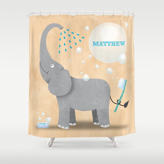 852 Bathtub Data Base Emails Contact Us Hk Mail: Items Similar To Elephant Shower Curtain, Children's