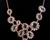 Vintage Runway Necklace Signed J. Crew STUNNING , Mint, Statement