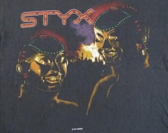 STYX 1983 tour T SHIRT