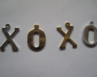 4-X Gold Charms