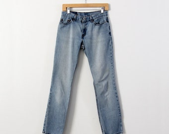 1980s Levi's denim jeans, size 7 juniors