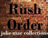 Rush Order