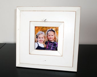 4x4 Canyon picture frame - White