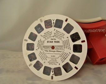 Vintage Star Trek View Master Picture Reels The Omega Glory 1968 Retro Set Three Reels B4993