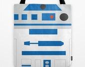 R2D2, tote bag, bag, shoulder bag