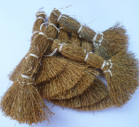 12 straw craft brooms by urbanhomesteaders on etsy for Straw brooms for crafts